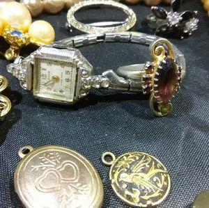 Ann Taylor Jewelry - Vintage Jewelry lot art deco mid-century